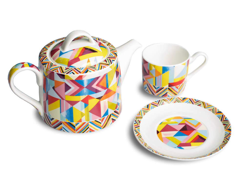7 things Collier Campbell Kaleidescope teapot