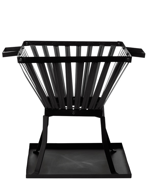 Columbus steel fire basket