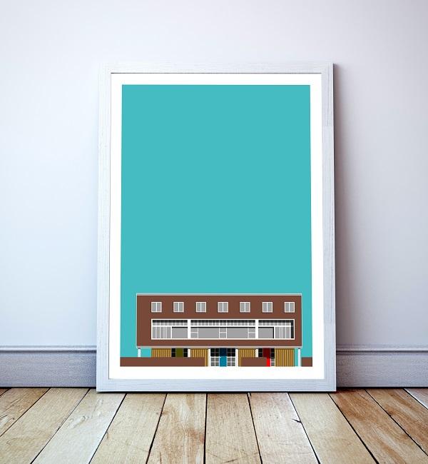 Willow Road print