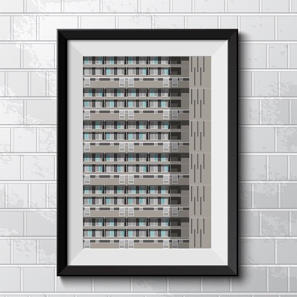 Glenkerry House print