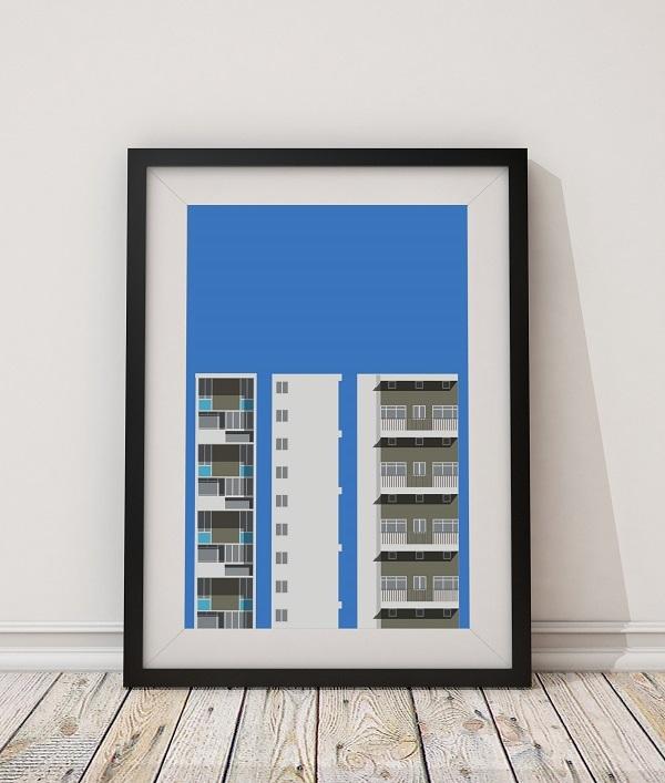 Sulkin House print