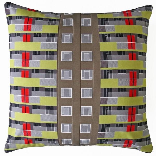 Spa Green Estate cushion