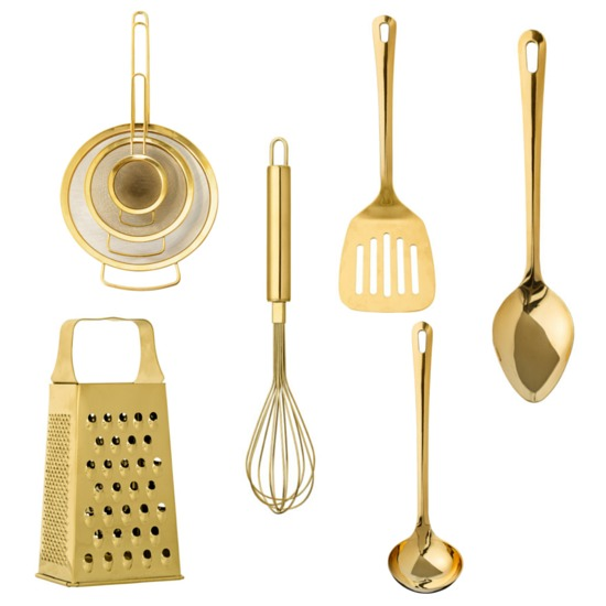 7 things mia fleur gold utensils