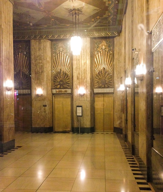 Hollywood Pantages lobby area