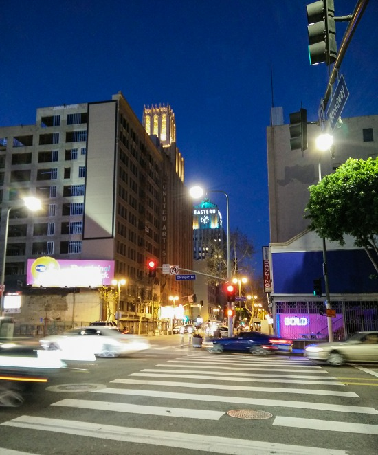West Hollywood road