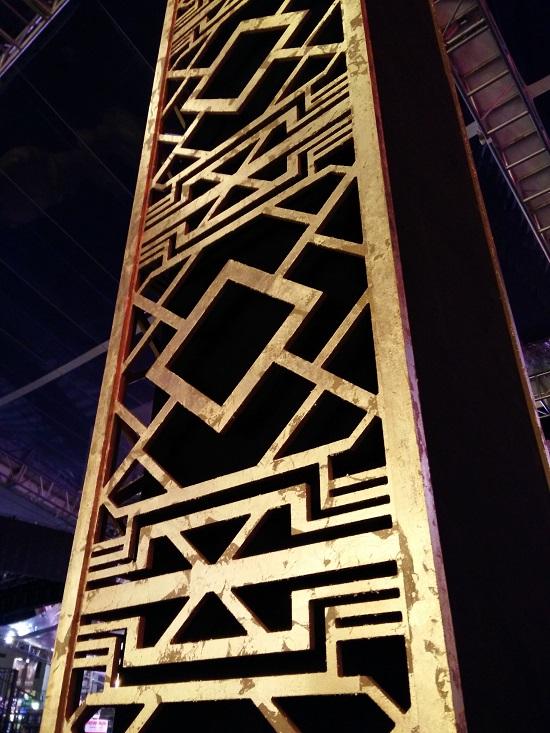 aztec columns