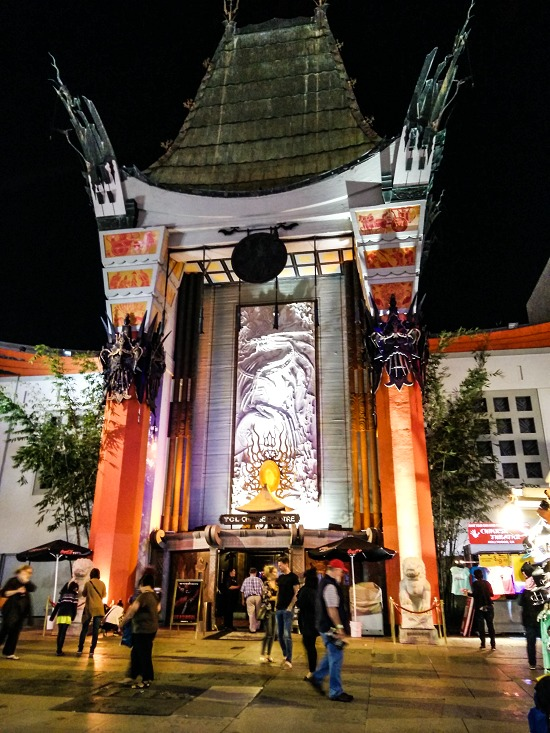the famous front of the TCL Chinese theatre