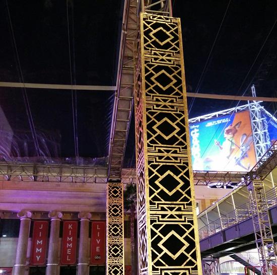 aztec type columns