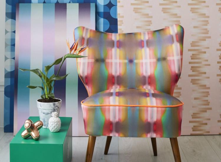 Galapagos Bartholomew Cocktail Chair Neon Lights