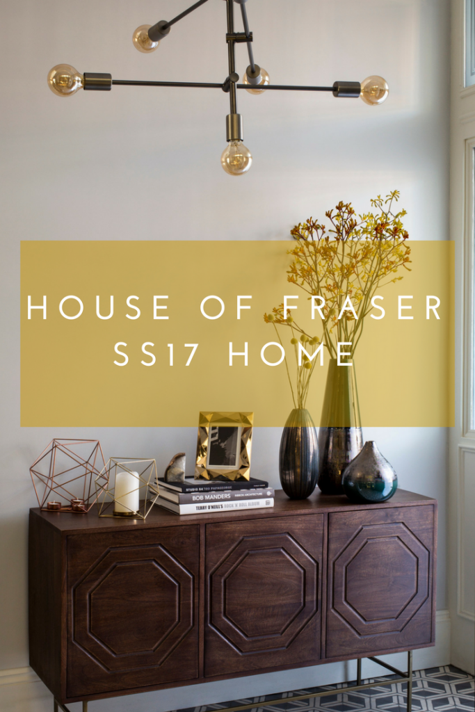 House of Fraser SS17 home