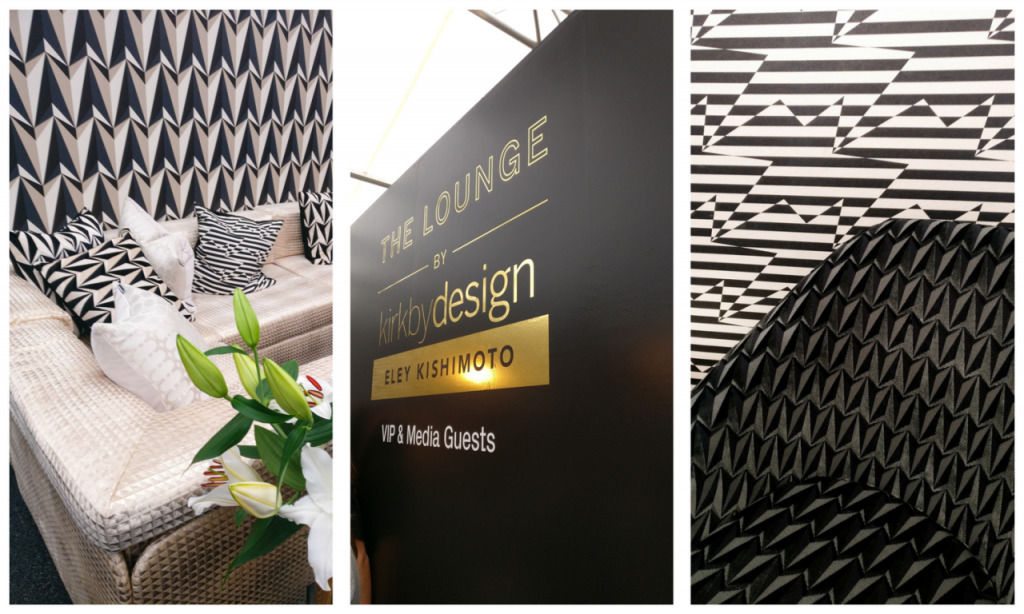London Design Festival VIP lounge kirkbydesign Eley Kishimoto