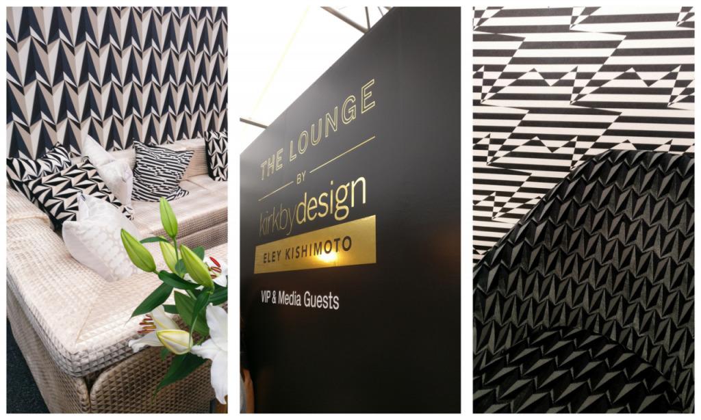 London Design Festival VIP lounge kirkbydesign Eley Kishimoto