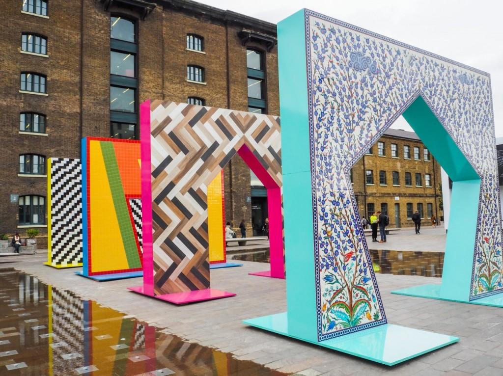 London Design Festival gateways